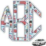 London Monogram Car Decal (Personalized)
