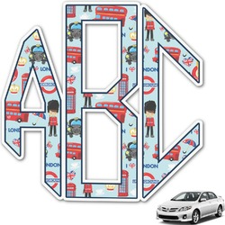 London Monogram Car Decal (Personalized)