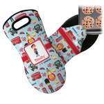 London Neoprene Oven Mitt (Personalized)