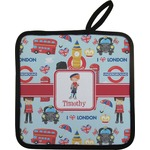 London Pot Holder (Personalized)