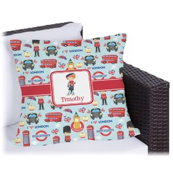 "London Outdoor Pillow - 20"" (Personalized)"