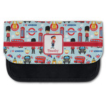 London Canvas Pencil Case w/ Name or Text