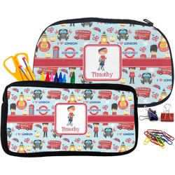 London Pencil / School Supplies Bag (Personalized)