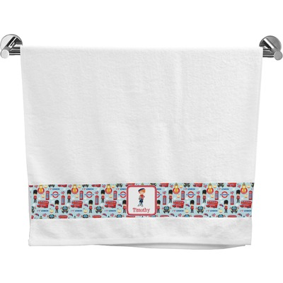 London Bath Towel (Personalized)