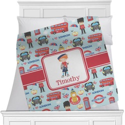 London Minky Blanket (Personalized)