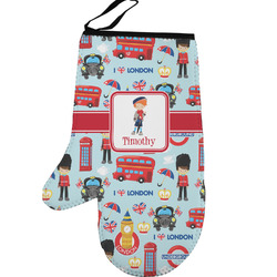 London Left Oven Mitt (Personalized)
