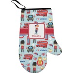London Right Oven Mitt (Personalized)