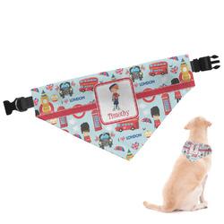London Dog Bandana (Personalized)