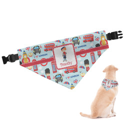 London Dog Bandana (Personalized)