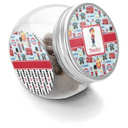 London Puppy Treat Jar (Personalized)