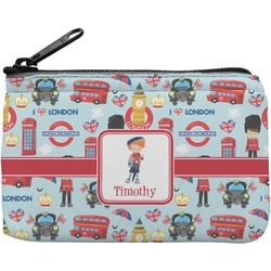 London Rectangular Coin Purse (Personalized)