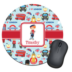 London Round Mouse Pad (Personalized)