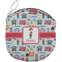 London Round Coin Purse (Personalized)