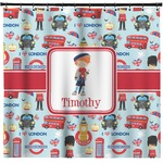London Shower Curtain (Personalized)