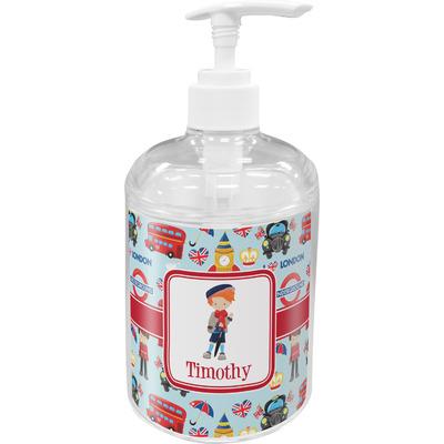 London Acrylic Soap & Lotion Bottle (Personalized)