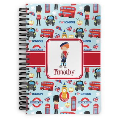 London Spiral Notebook (Personalized)