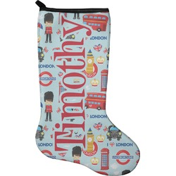 London Christmas Stocking - Neoprene (Personalized)