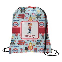 London Drawstring Backpack (Personalized)