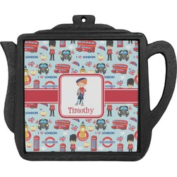 London Teapot Trivet (Personalized)