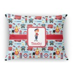 London Rectangular Throw Pillow (Personalized)