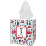 London Tissue Box Cover (Personalized)