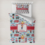 London Toddler Bedding w/ Name or Text