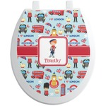 London Toilet Seat Decal (Personalized)