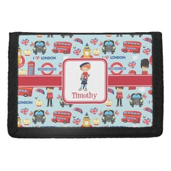 London Trifold Wallet (Personalized)