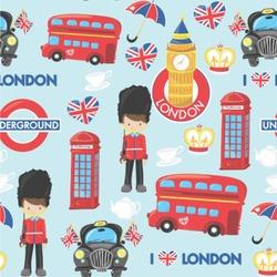 "London Wallpaper & Surface Covering (Peel & Stick 24""x 24"" Sample)"