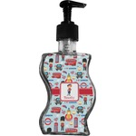 London Wave Bottle Soap / Lotion Dispenser (Personalized)