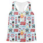 London Womens Racerback Tank Top (Personalized)