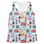 London Womens Racerback Tank Top (Personalized)