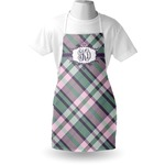 Plaid with Pop Apron (Personalized)
