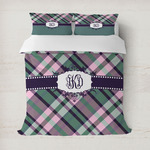Plaid with Pop Duvet Cover (Personalized)