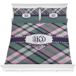 Plaid with Pop Comforters (Personalized)