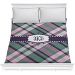 Plaid with Pop Comforter (Personalized)