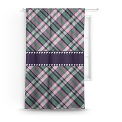 Plaid with Pop Curtain (Personalized)