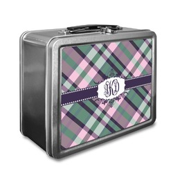 Plaid with Pop Lunch Box (Personalized)