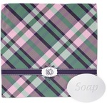 Plaid with Pop Wash Cloth (Personalized)