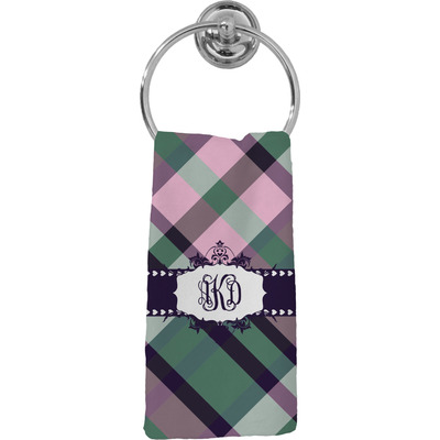 Plaid with Pop Hand Towel - Full Print (Personalized)