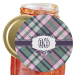 Plaid with Pop Jar Opener (Personalized)