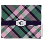Plaid with Pop Kitchen Towel - Full Print (Personalized)