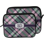 Plaid with Pop Laptop Sleeve / Case (Personalized)