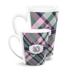 Plaid with Pop Latte Mug (Personalized)