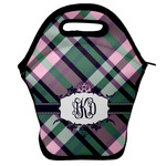 Plaid with Pop Lunch Bag (Personalized)