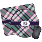 Plaid with Pop Mouse Pads (Personalized)