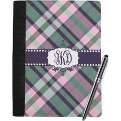 Plaid with Pop Notebook Padfolio (Personalized)
