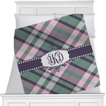 Plaid with Pop Blanket (Personalized)