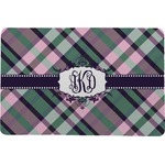Plaid with Pop Comfort Mat (Personalized)