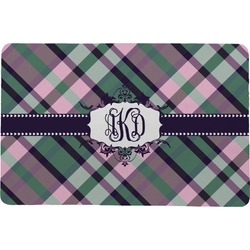 "Plaid with Pop Comfort Mat - 24""x36"" (Personalized)"